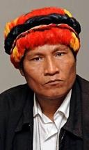 Alberto Pizango, ehem. Präsident der Indigenen Vereinigung AIDESEP